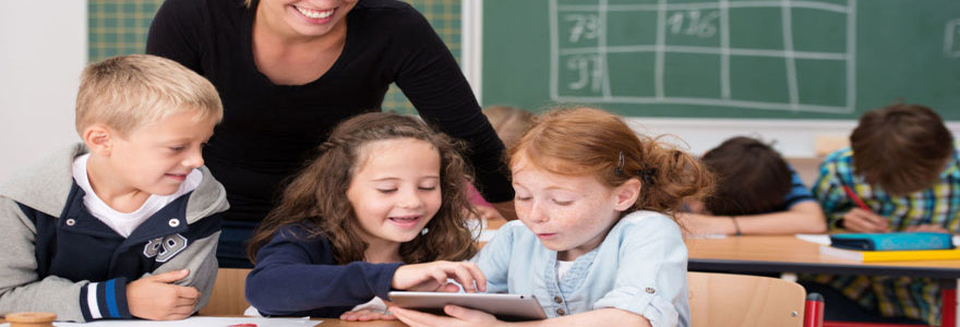 utilisation des tablettes numériques dans l'éducation des enfants